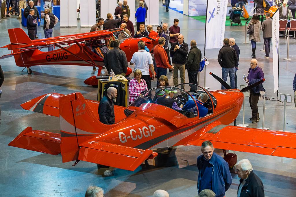 Breezer Aviation at UK Flyer UKs biggest indoor aviation event